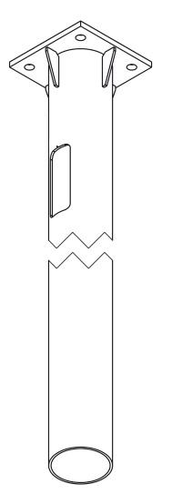 Фундамент для фланцевых опор освещения